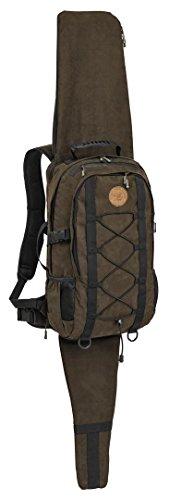 PINEWOOD® Jagd - Mochila (22 L, con funda para rifle integrada), color marrón