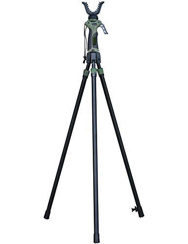 BENISPORT - Gen-4 Tripode de Nueva generacion tripode de Caza - Altura de extensión 165 cm - Seguro...