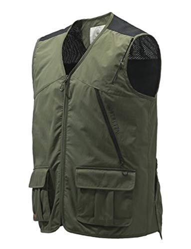 Beretta Modular Vest Green, chaleco caza verde, VERDE, M