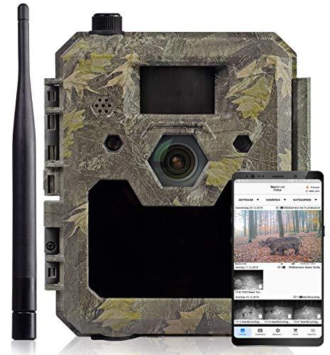 icuscerver Cámara de Caza visión Nocturna icucam 4G - Fototrampeo con Detector de Movimiento,...