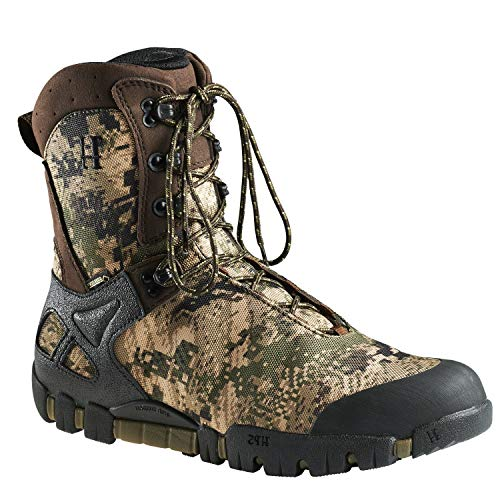 Botas de caza para hombre Vulpes GTX® 9' con forro Gore-Tex® y refuerzo en camuflaje, color...