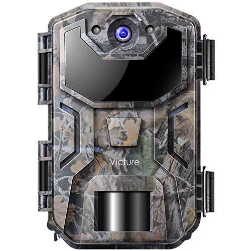 Victure Cámara de Caza Nocturna 20MP 1080P con Diseño Impermeable IP66 Cámara de Fototrampeo con...